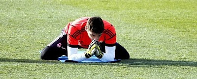 Casillas: «Trabajo duro para recuperar mi puesto»