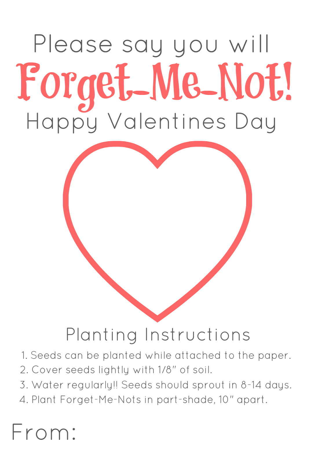 Nature-Inspired Valentines (free-printable)