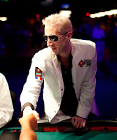 Bertrand 'ElkY' Grospellier busting out from the 2011 WSOP Main Event (from the PokerStars blog)