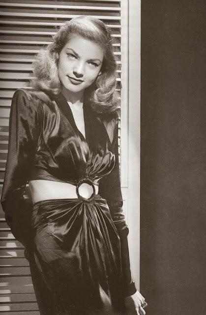Style Icon Lauren Bacall Bobbins and Bombshells