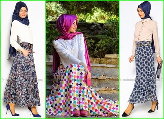 2015 İlkbahar Yaz Tesettür Giyim Moda Trendleri