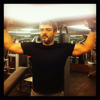Ajith Gym Workout Photo