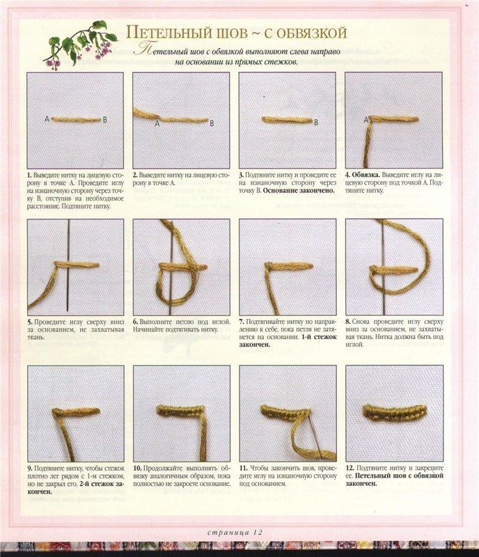 Техники вышивки. Подробные инструкции