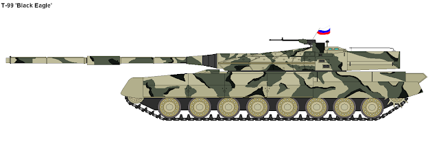 Russia plans to field the t 99 a radically new main battle tank by