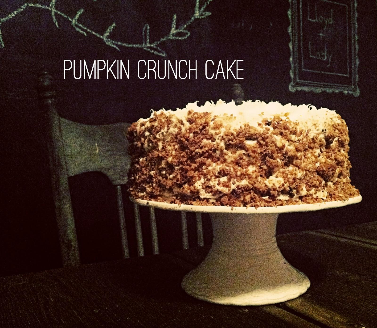 Inspired Kara: Pumpkin Crunch Cake