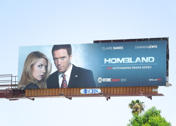 Homeland Showtime Emmy billboard 2013