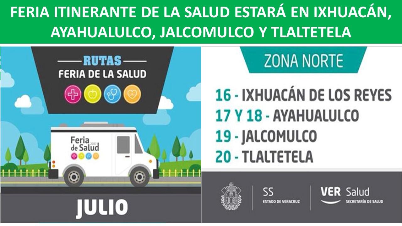 EN IXHUACÁN, AYAHUALULCO, JALCOMULCO Y TLALTETELA