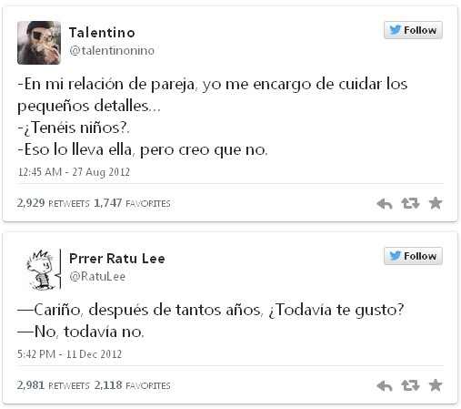 tuits,twitter,comentarios