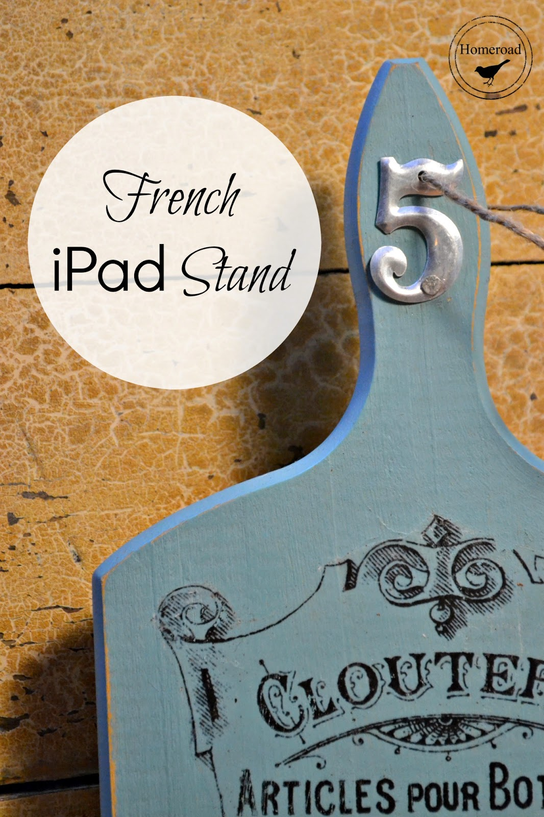 French-ipad-stand www.homeroad.net