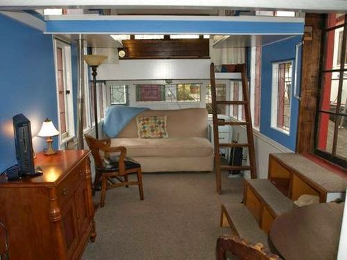 Has A Long History Of Living In Tiny Houseboats And Barges! The House