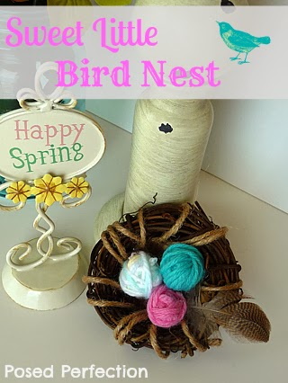 Sweet Little Bird Nest Tutorial