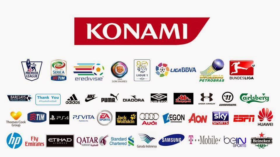 PES 2013 New Konami Logo With Sponsor by Randy Dwi Liverpool