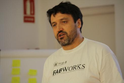 Juan Carlos (Fablab Universidad de Sevilla)