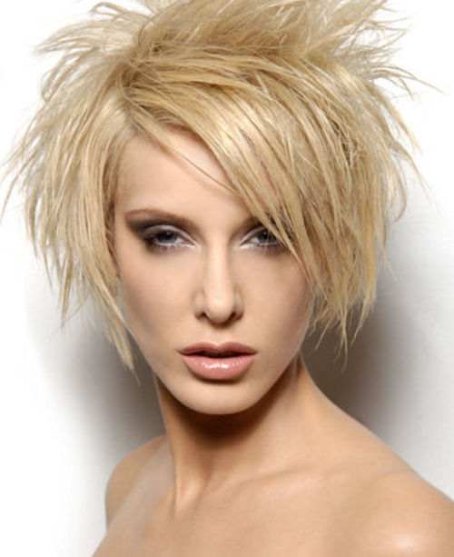 Short Spiky Hairstyles Women