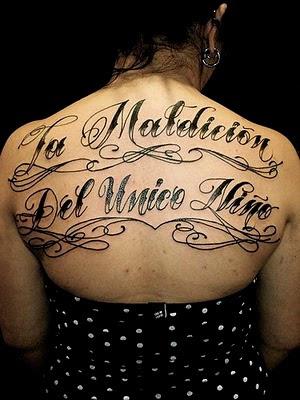 Tattoo Ink Font dafont