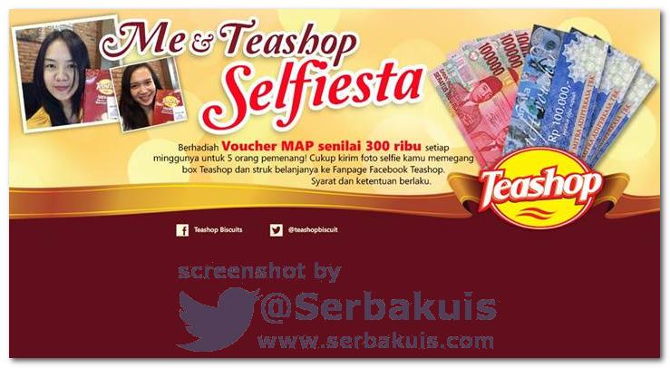 Kontes Selfie Berhadiah Voucher MAP Total 1,5 JUTA