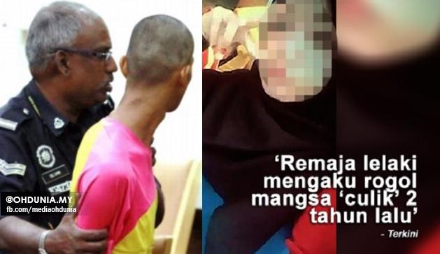 Remaja Lelaki Mengaku Bersalah Rogol Gadis Dakwa Dirinya Diculik