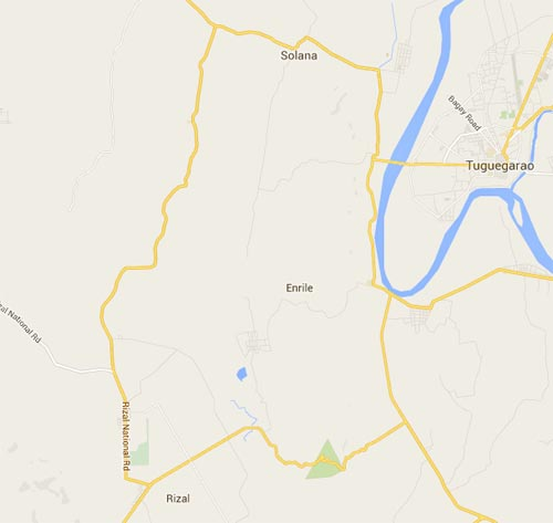 Truck accident enrile cagayan map