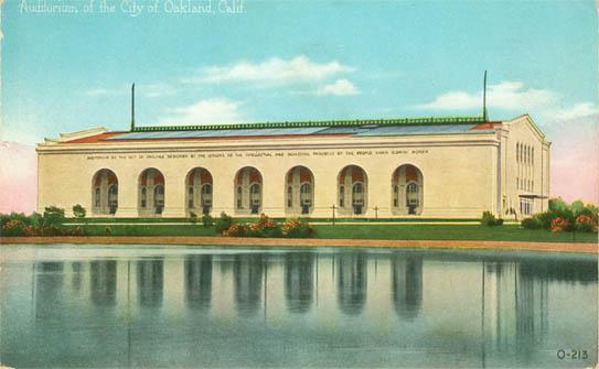 Oakland Auditorium Arena
