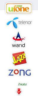 Telenor Sim tricks,Warid Sim tricks,Jazz sim tricks,zong sim tricks,