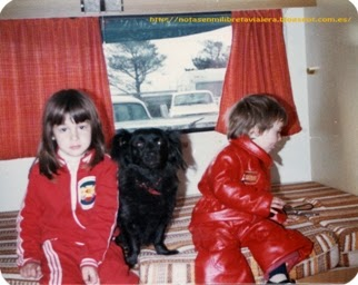 Mis viajes en familia como niña by Monica