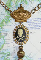 Anne Bonney Jolly Roger Necklace