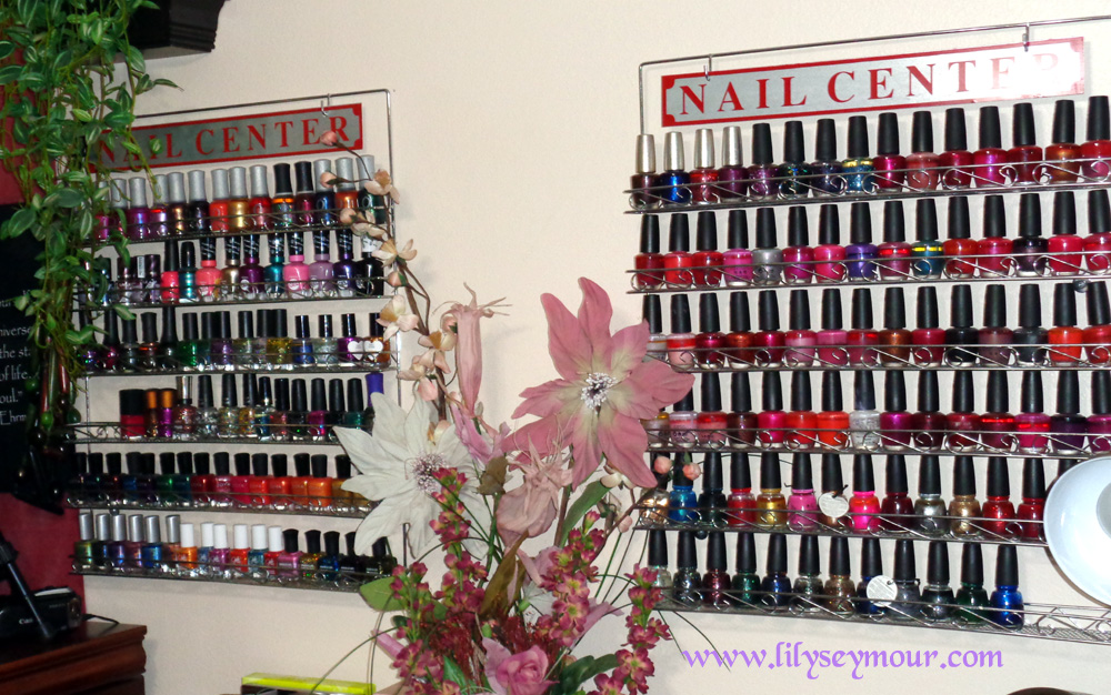 Wall Mount Nail Polish Racks
