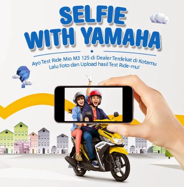 Selfie Bisa Dapat Yamaha Mio M3 Gratis
