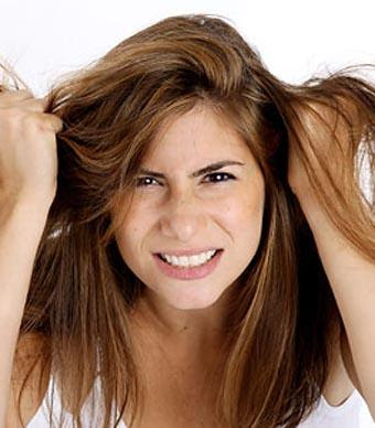الحل السحرى لجميع مشاكل شعرك وبخمسة جنيهات فقط - الشعر التالف المتقصف