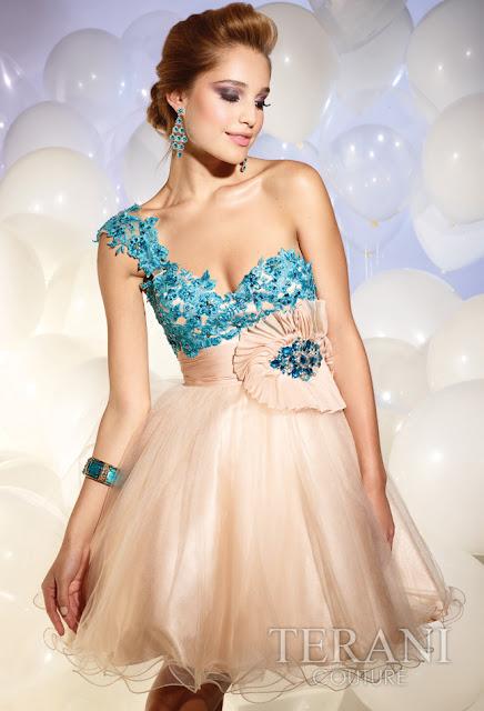 Vestidos cortos de fiesta terani 2012 17 - Gen� K�z Abiye Modelleri