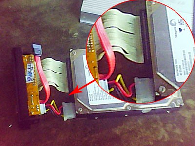 Install Hardisk External PS2