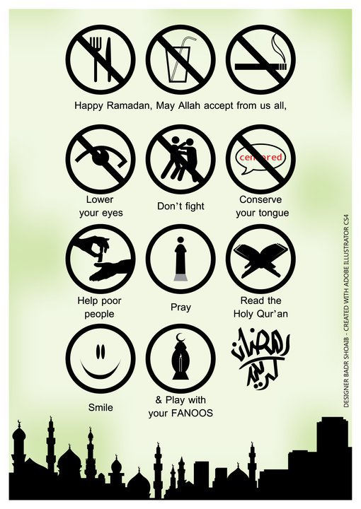 sign board, papan, tanda, ramadhan, simbol, nasihat, islamik, muslim, happy, fasting