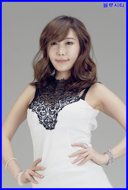5 Im Min Young in White -Very cute asian girl - girlcute4u.blogspot.com