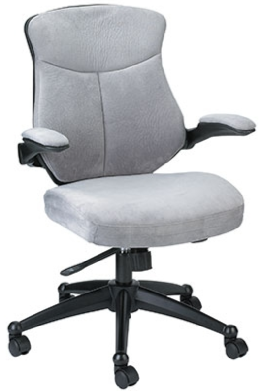 Eurotech Seating Microsuede Wing Office Chair