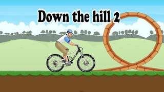Screenshots of the Down the hill 2 for Android tablet, phone.