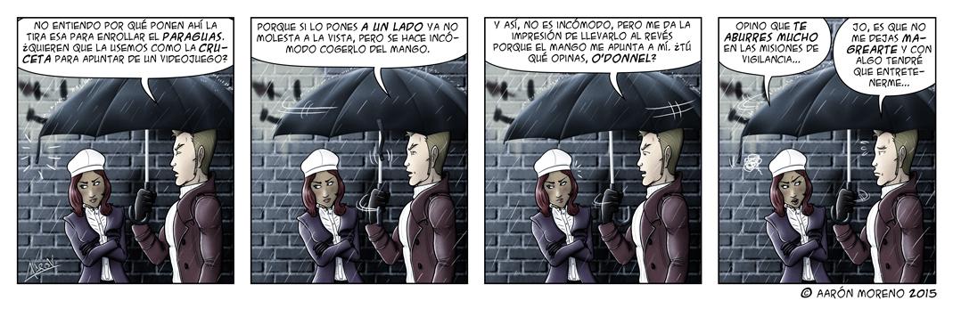 #095 Reflexiones profundas bajo la lluvia