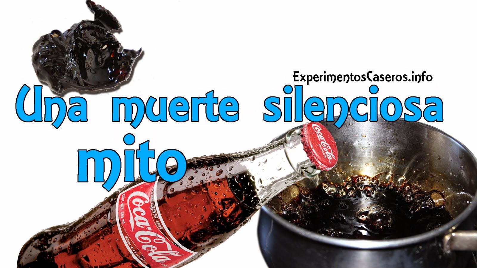Mira lo que ocurre cuando hierves Coca Cola, una muerte silenciosa, Desvelando Mitos, Experimentos Caseros, experimentos, experimento, experimento casero, mitos de la coca cola, leyendas de la coca cola, mitos y leyendas de la coca cola, mitos y leyendas, coca cola hervida, inventos caseros, invento, inventos, invento casero, experimentos para niños
