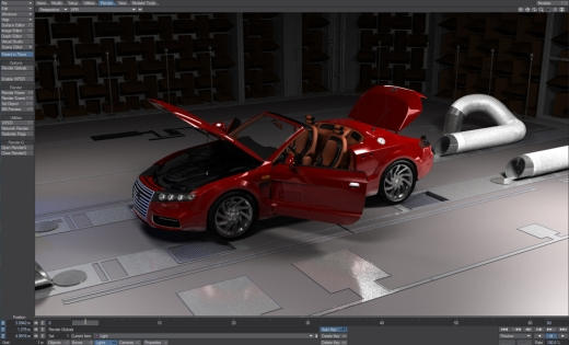 127. MAXWELL RENDER V2.5.5 FOR 3DS MAX, SOFTIMAGE XSI, MAYA
