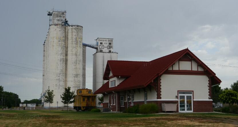 Clay Center depot