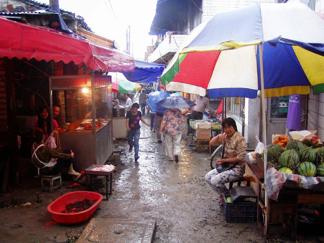Suzhou old city market