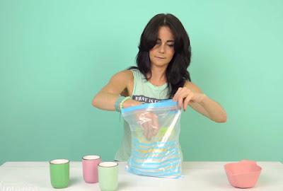 Cách làm kem hoa quả trong 5 phút không cần tủ lạnh4