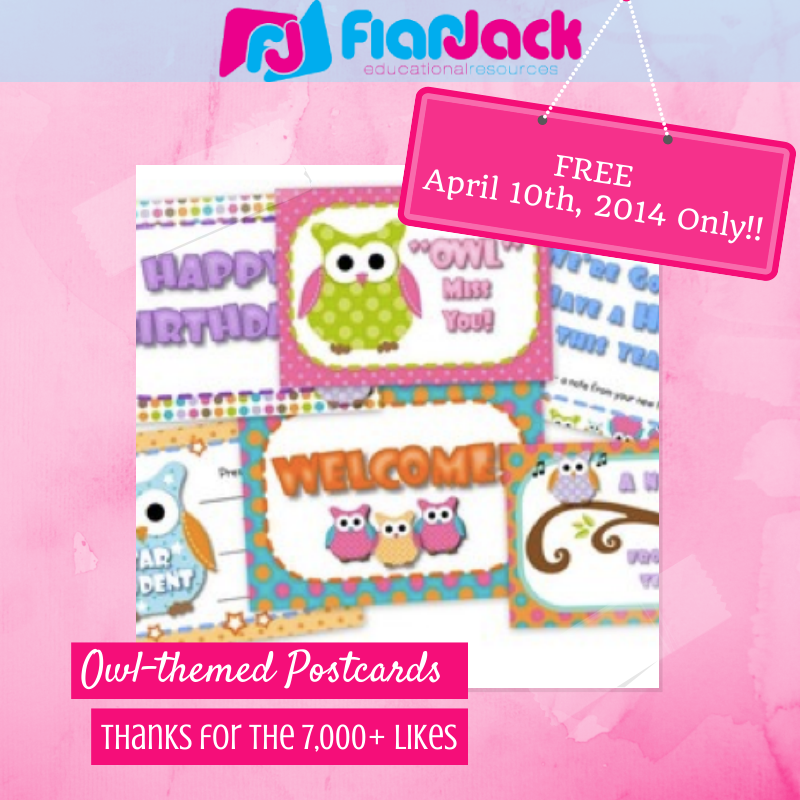 http://www.teacherspayteachers.com/Product/Owl-Themed-Postcards-267124