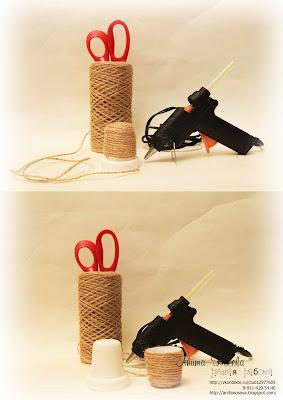 Елочное украшение - Воздушный шар от Аниты Носовой  5