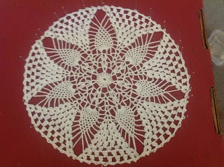thread crochet doily