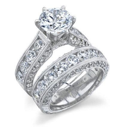 Diamond couple ring