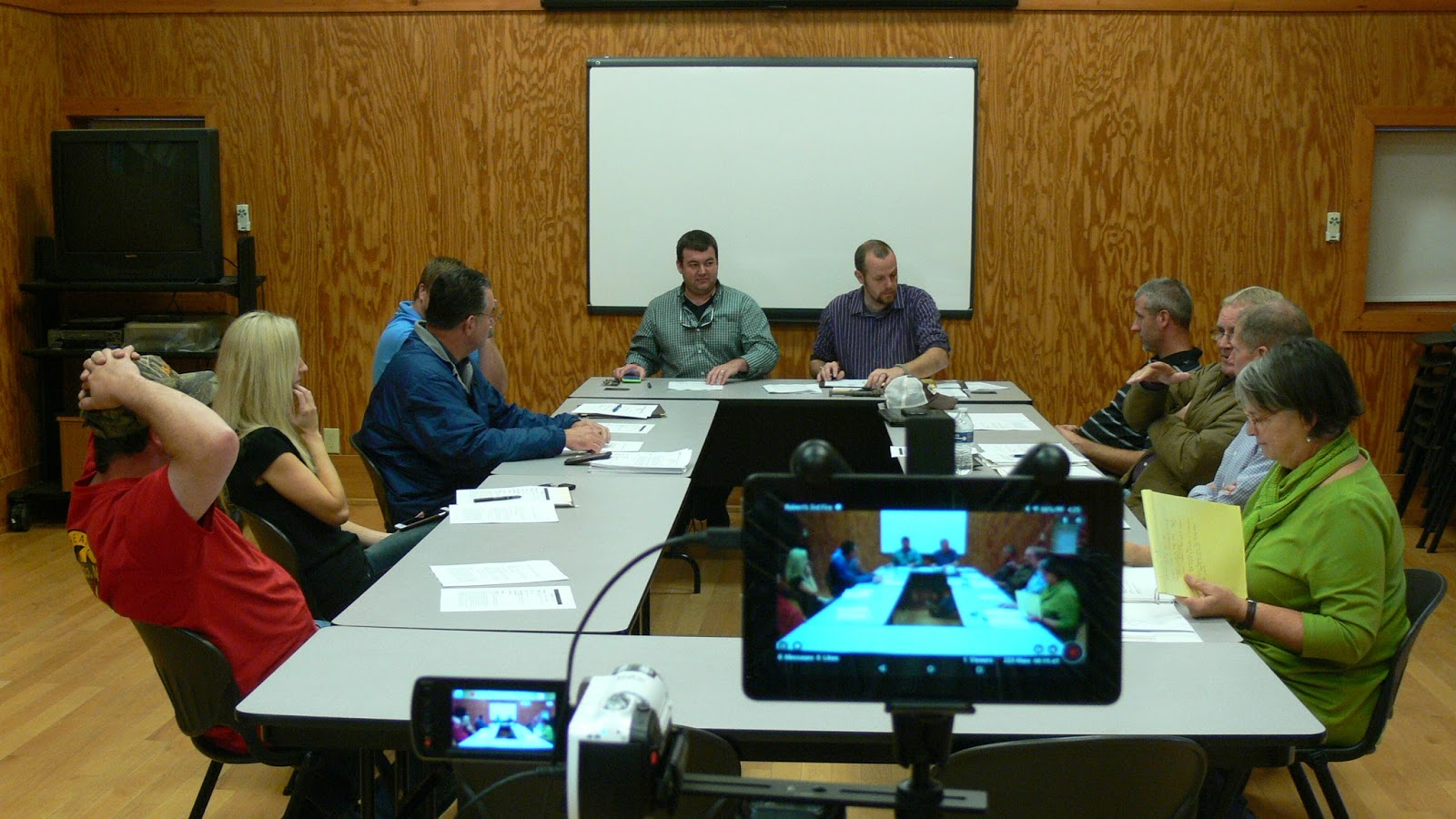 December 2015 meeting  of the  Macon County Planning Board