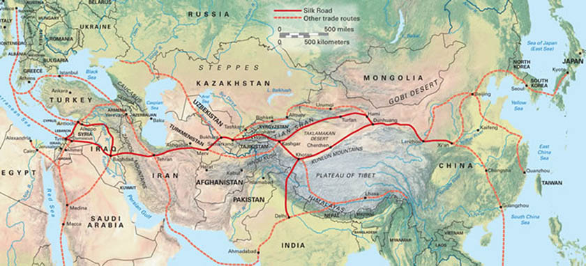 medieval india and china