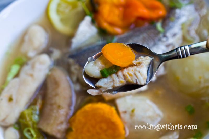 Sunday april 22 2012 for Trinidad fish broth