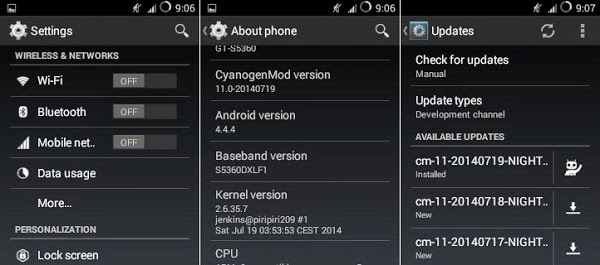Cara Update Galaxy Young S5360 Ke Android Kitkat