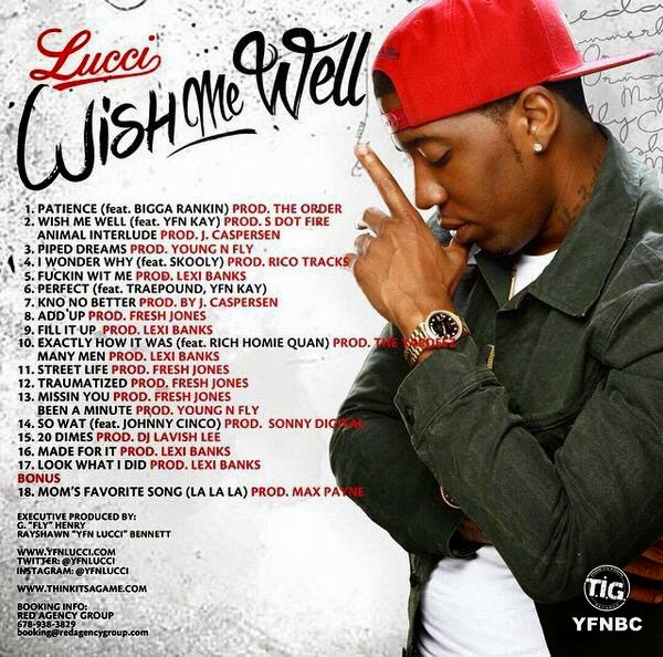 YFN Lucci (@yfnlucci) - Wish Me Well (New Mixtape)